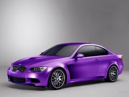 BMW 3 Coupe M Cosworth #violet by TeofiloDesign