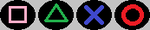 Playstation Button Icons by KambalPinoy
