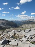 View from Donahue pass into Yosemite by NMWoodcarver