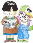 Gohan and Arale by Kveld