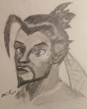 Hanzo by GalliArts