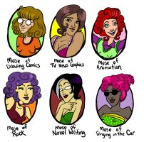 My Muses by rosalarian