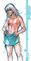 KH: After shower. by Anyarr