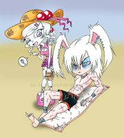 Beach Picnic Together? by Hasana-chan