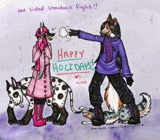 Happy Holidays by silverwing