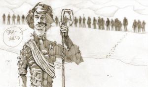 Paul Muad'Dib sketch 05252011 by tomasoverbai