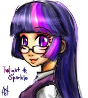 Librarian Twilight Sparkle by Ereb-Tauramandil