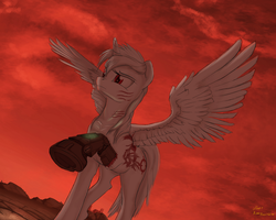 Appletart (Red Sky) by LuckyDragoness