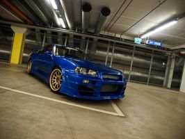 Nissan Skyline BeeR B324R III by s3r4x