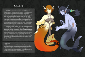 Merfolk by KDeto
