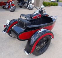 1943 WL Harley-Davidson with Side Car top right by Caveman1a