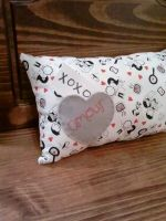 Cute Couple Pillow with Love Note Pocket by msmegas