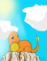 .:.Stray Charmander.:. by AeroShadowStar