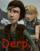 Hiccup's Epic Derp by Aaiero