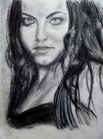 Amy Lee -- Evanescence -- Portrait by MonsieurJackass