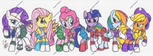 Sailorponies (3) by PonyGoddess