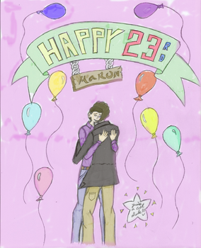 Brother's 23rd Birthday by Papertop