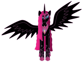 Nightmare Pinkamena by kyrospawn