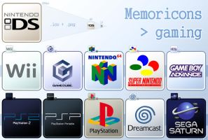 Memoricons : gaming by hechiceroo