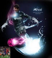 messi by medo1o0o09