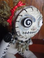 Vonda the Voodoo Doll by claylindo
