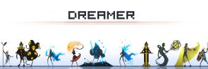Dreamer Character Concept art by Ullbors