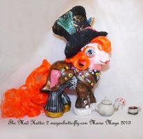 The Mad Hatter II Custom My Little Pony by mayanbutterfly
