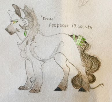 Character Adoption (Wolf Hybrid: CLOSED) by WildPacksArt