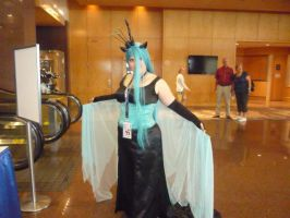Queen Chrysalis by PartyRockingPikachu