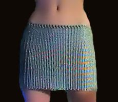 Chainmail skirt. by Xzorby