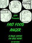 Fast Food Anger (Comic For Sale!) by CleverFoxMan
