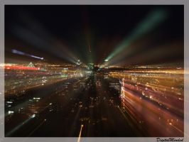 Zoom of lights by digitalminded