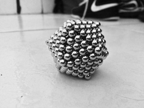 Buckyballs Cube by N1ck19