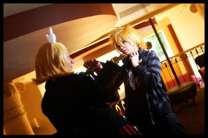 'Nice to see you' Len y Rin K. by SanctusIX