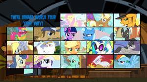 My Little Total Drama World Tour by SEGASister