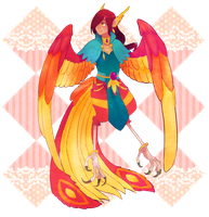 Phoenix boy auction adopt -Closed- by oko-san