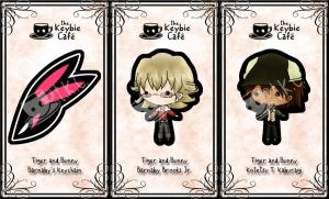 tiger and bunny keybies by silverei