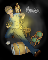 Pewdiepie in Amnesia~ by RulliDei