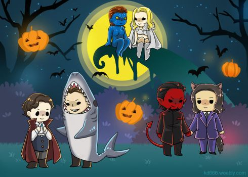 Heroes' Holidays-Halloween by KD666