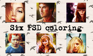 Six PSD-coloring by lore246