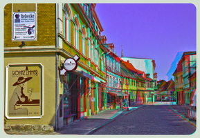 Quedlinburg IV ::: Anaglyph HDR-3D by zour