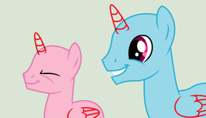 MLP Base 02: Happy Stallions by LoopScratch