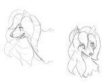Quiterie sketches by Martipon