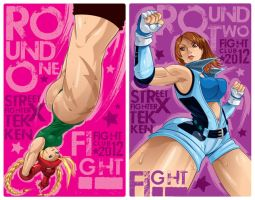 Street Fighter X Tekken 2012 Fight Club Prints by KWESTONE