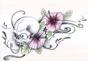 tattoo sketch by graynd