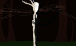 Slenderman Two Sides of a Coin by Owshewhat
