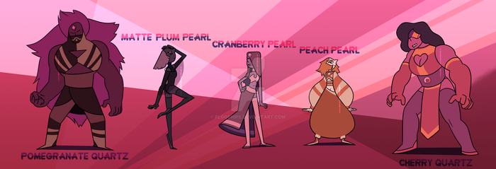 Paypal Adopts - Gem Fruit Batch [5/5 CLOSED] by FloofHips