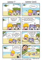 Tuti 4 Koma : The End Of Summer by fajardesign