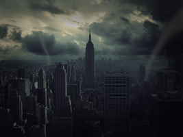 New York: A City In Crisis by BenHampson