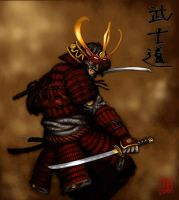 Red Ronin by MarcWasHere